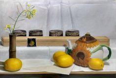 Initiation Spring: Jessie's Teapot Oil on Canvas