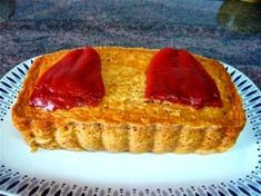 Pepper, tuna and shrimp mousse (microwave) - Recetas - Empanadas, What You Eat, Flan, Microwave, Shrimp, French Toast, Sandwiches, Pie, Stuffed Peppers