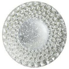 Threshold Glass Appetizer Plate Silver