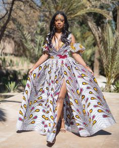 Ladies, Today we are trilling you with some amazing and creative African print dress styles that will make you look classical and elegant if you try out. African Fashion Designers, African Inspired Fashion, African Print Fashion, Africa Fashion, African Prints, African American Fashion, African Attire, African Wear, African Dress