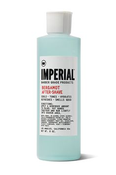 Why isn't after shave for women a thing? In any case, calm your irritated skin and razor bumps with this invigorating version.  Imperial Bergamot After Shave, $12; imperialbarberproducts.com   - MarieClaire.com