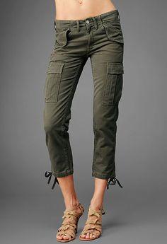 AG Jeans-Cargo Capri