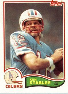 The Snake, Kenny Stabler 1982 Houston Oilers QB