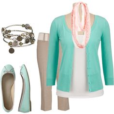 """""""Capris and flats for spring"""" by karategirl-964 on Polyvore"""