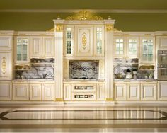 Kitchen Pantry Design, Luxury Kitchen Design, Luxury Kitchens, Luxury Interior Design, Kitchen Decor, Kitchen Furniture, Furniture Design, Beautiful Kitchen Designs, Beautiful Kitchens
