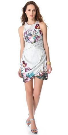Zimmermann Dazed Botanical Twist #Dress #Zimmerman