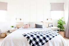 Bohemian decor ideas for a family home. Learn decorating tips from interior designer, Natalie Myers, on the aesthetic of boho decor.