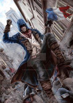 Assassin's Creed - Arno Dorian by AnaNevesArt on DeviantArt