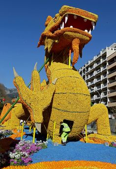 In pictures: Menton Lemon Festival