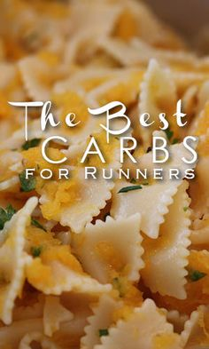 The Best Carbs For Runners