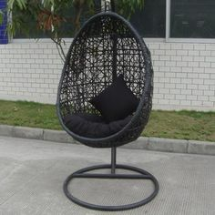 This hanging chair is so comfortable to read in and relax.. Love
