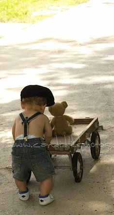 teddy bear ride...