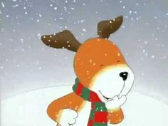 ▶ Kipper the Dog - Snowy Day - YouTube  7:36 - perfect for listen to reading
