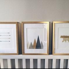 Toddler Art Boys Prints Mountain Nursery Wall Art Print