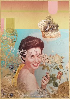 FELICIANO Laurindo - She's-Universal - collage numérique 2014