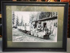 Old Ouray, Colorado mining photo framed with @Larson-Juhl's Devon line! Custom framed by FastFrame of LoDo. #art #framing #denver #colorado #ouray #photograph