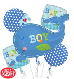 Ahoy Baby Boy Baby Shower Party Supplies - Party City @meolasa what do you think of party city's nautical baby shower stuff?