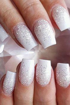 #white #manicure #black #nails #love #nailart #gelnails #nail #naildesign #art #beauty #beautiful #gelpolish #nailswag #style #nailpolish #gel Gel Nails, Acrylic Nails, White Manicure, Swag Nails, Gel Polish, Nailart, Nail Designs, Glitter, Beautiful
