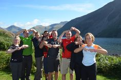 The sun shone for us the day we climbed Scafell Pike on our 3 Peaks Challenge for #JoiningJack