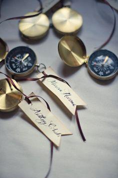 I love the idea of compasses