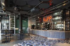 Kupp Café by DesignLSM, London – UK » Retail Design Blog