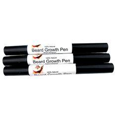 Effective Face Beard Whiskers Moustache Growth Enhance Enhancer Styling Spray Shape Drawing liquid Oil Pen 7662