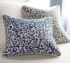 Cheetah Pillow Cover #potterybarn.  $34.50.  Not exactly nautical, but a nice nautical complement!