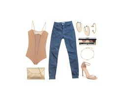 """""""This town"""" by misspamplemousse ❤ liked on Polyvore featuring Isabel Marant, American Apparel, Jeweliq, BERRICLE, Stuart Weitzman and Bobbi Brown Cosmetics"""