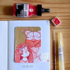 aceo#41 #gusosos_aceo_project #1aceo_a_day