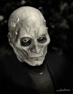 This Frankenstein concept mask made by Rick Baker as a kid ended up being used in #StarWars.