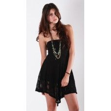 Who says Little Black Dresses have to be all dressy? This casual lace dress from Nightcap is great as a day dress