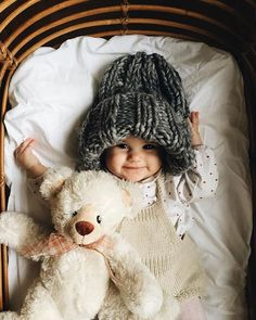 baby and teddy bear www.celestianshop.com