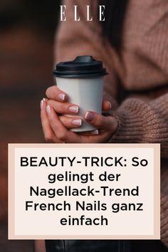 Es gibt einen Beauty-Trick, mit dem ihr für den Nagellack-Trend French Nails nicht mehr ins Nagelstudio müsst. Wie er geht, zeigen wir im Elle-Video!