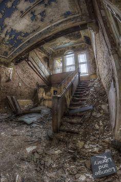 Abandoned Whittingham Asylum