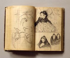 Find artworks by Paul Gauguin (French, 1848 - on MutualArt and find more works from galleries, museums and auction houses worldwide. Paul Gauguin, Moleskine Sketchbook, Artist Sketchbook, Artist Journal, Art Journal Pages, Art Journals, Impressionist Artists, Illustration, Sketchbook Inspiration