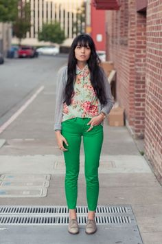 gemstone #brights #jeans