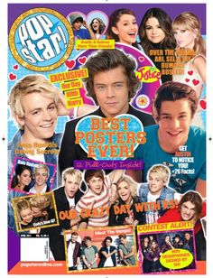 The vamps are in magazines Popular Magazine, Cool Magazine, Magazine Covers, Justin Bieber And Selena, Shop Justice, Crazy Day, Ross Lynch, Toy Craft, Craft Shop