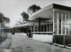 Moat Cafe. Le Zoo, City Painting, Old Photographs, West Midlands, Birmingham, History, Country, Ephemera, Kid