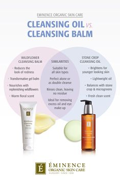 if you're unsure what the difference is between a cleansing balm and cleansing oil you're not alone! Read the Eminence guide to oil cleansing. Organic Skin Care, Natural Skin Care, Oil Cleansing, Coconut Oil For Skin, Homemade Skin Care, Homemade Facials, Skin Care Remedies, Acne Remedies, Oils For Skin