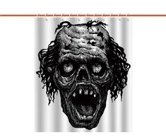 Shower Curtain Bathroom Accessories >>> You can get additional information at the image web link. (This is an affiliate link). Halloween Shower Curtain, Bathroom Shower Curtains, Bathroom Accessories, Link, Image, Bathroom Fixtures