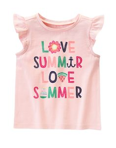 Love Summer Tee at Gymboree (Gymboree 6m-5T)