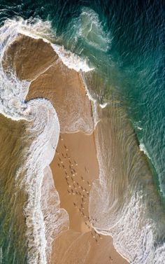 It is Skagen, the most Northern point of Denmark. Where the two oceans meet. edge of the world ; Image Nature, All Nature, Two Oceans Meet, Life Is Beautiful, Beautiful Places, Beautiful Ocean, To Infinity And Beyond, Pics Art, Belle Photo