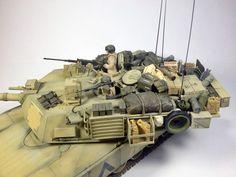 M1A2 Abrams - 1/35 Tamiya - OIF