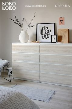 Ikea Bedroom, Room Ideas Bedroom, Small Room Bedroom, Home Decor Bedroom, Diy Home Decor, Bed Designs With Storage, Ikea Malm, Ikea Hacks, New Room