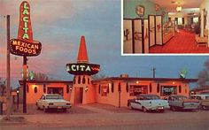 La Cita Mexican Restaurant, Tucumcari, New Mexico.
