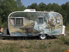 1962 Ken Craft Vintage Trailer | by Montana Camps and Cabins