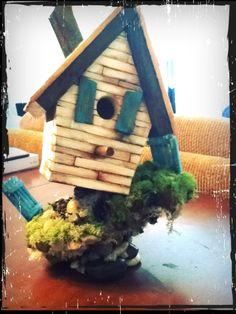 My birdhouse creation 2012