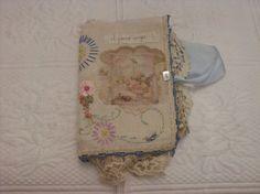 Fabric Rag Journal via Etsy