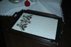 handmade embroidery tray by AnatolianGiftsShop on Etsy, $69.00