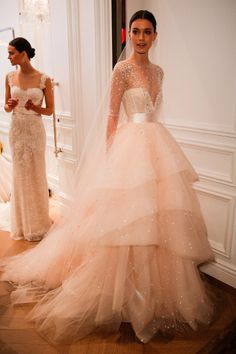 Blush pink: http://www.stylemepretty.com/2015/04/20/bridal-week-2015-top-trends/